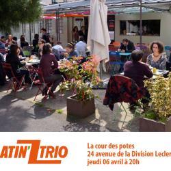 La cour des potes  24 avenue de la Division Leclerc 92160 Antony jeudi 06 avril à 20h