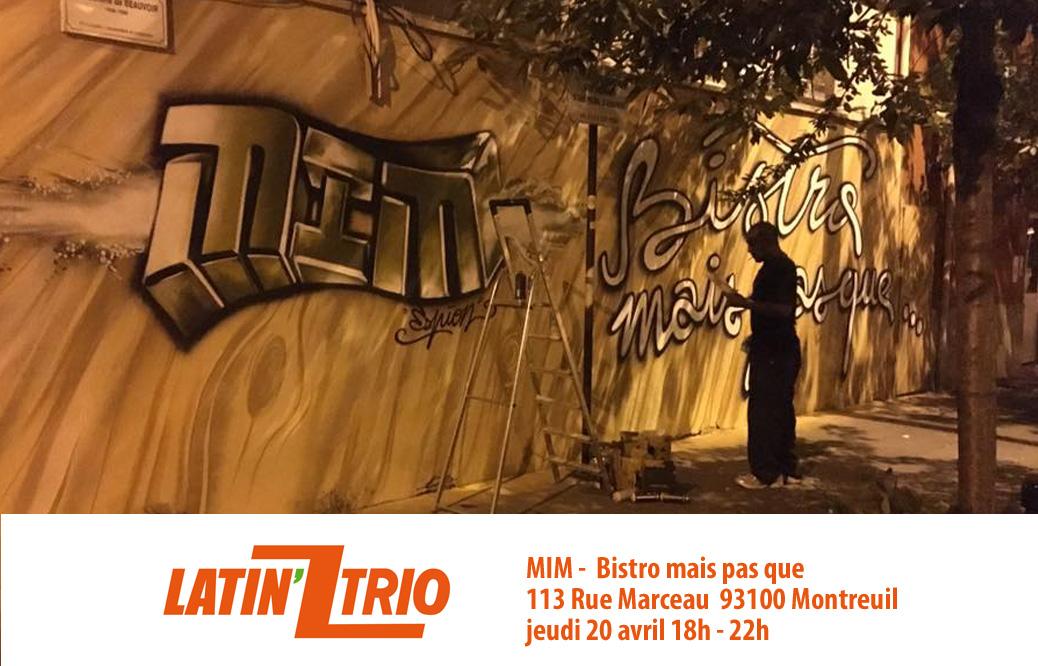 MIM-113-Rue-Marceau,-93100-  113 Rue Marceau 93100 Montreuil jeudi 20 avril 18h - 22h